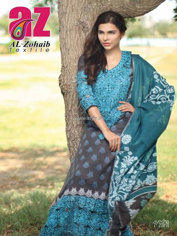 Ayesha Zara Collection 2013 by Al Zohaib Textile