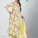 Dawood Textiles Gold lawn Collection 2013 Volume 2 For Women 0014