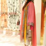 Designer Warha Saleem at Launch Of Sania Maskatiya Dolmen Mall Store Karachi