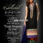Embellished by Sadaf Amir Semi-Formal Collection 2013 For Girls 002