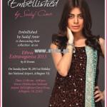 Embellished by Sadaf Amir Semi-Formal Collection 2013 For Girls 004