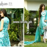 Kalyan Eid Collection 2013 by Z.S Textiles For Women 007