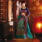 Natasha Couture Sarees And Lehenga Sarees Collection 2013 For Women 004