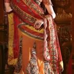 Natasha Couture Sarees And Lehenga Sarees Collection 2013 For Women 006