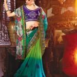 Natasha Couture Sarees And Lehenga Sarees Collection 2013 For Women 009