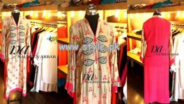 Naureen Arbab Summer Dresses For Women 2013 009