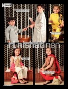 Nishat Linen Eid Collection 2013 For Boys and Girls 001