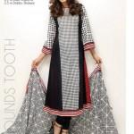 Orient Textiles Black & White Lawn Collection 2013 For Women 002