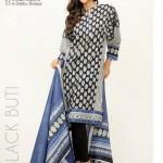 Orient Textiles Black & White Lawn Collection 2013 For Women 003