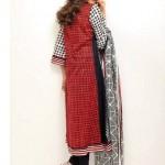 Orient Textiles Black & White Lawn Collection 2013 For Women 005