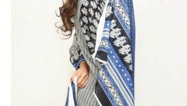 Orient Textiles Black & White Lawn Collection 2013 For Women 007