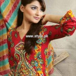Popular Style Eid Collection 2013 For Girls 003