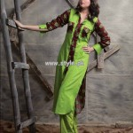 Popular Style Eid Collection 2013 For Girls 005