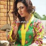 Popular Style Eid Dresses 2013 For Women 007