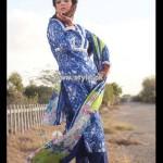 Popular Style Eid Dresses 2013 For Women 010
