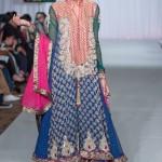 Sara Rohale Asghar Bridal Wear Collection At Pakistan Fashion Week London 2013 007