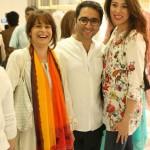 Tania, Amir and Sanam in Sania Maskatiya Dolmen Mall Store