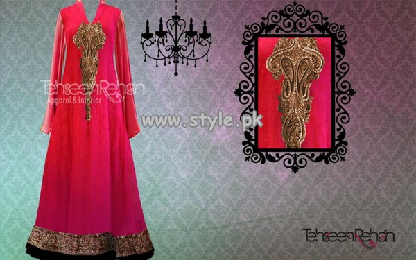 Tehseen Rehan Couture Formal Collection 2013 For Girls 003