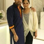 Umair Tabani and Sania Maskatiya at Launch