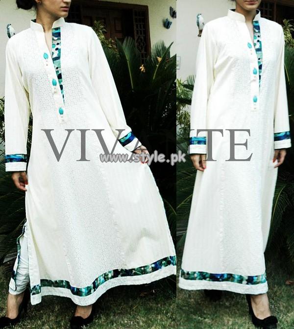 Vivante Women Pakistani Girls Clothes 2013 For Summer 010