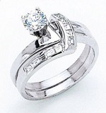 White Gold Diamond Rings For Men and Women 007 300x320