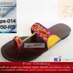 Zari Khussa Mahal Footwear Collection 2013 For Women 003