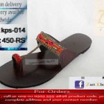 Zari Khussa Mahal Footwear Collection 2013 For Women 004