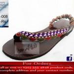 Zari Khussa Mahal Footwear Collection 2013 For Women