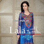 Afreen Eid Collection 2013 by Lala Textiles For Women 006