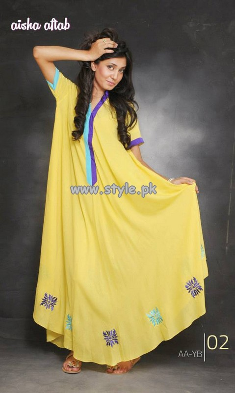 Aisha Aftab Mid Summer Collection 2013 For Girls 003