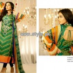 Ali Xeeshan Eid Collection 2013 by Shariq Textiles For Women 012