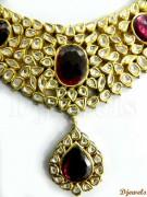 Beautiful Polki necklaces