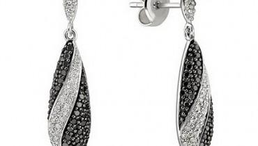 Black-diamond-earrings-for-women