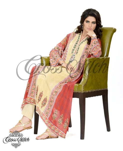 Cross Stitch Eid Collection 2013 For Women 005
