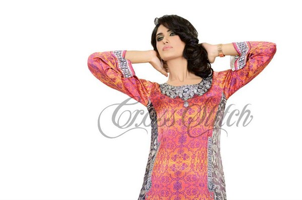 Cross Stitch Eid Collection 2013 For Women 006