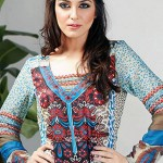 Dawood Textiles Aalishan Chiffon Lawn Collection 2013 Volume 3 For Women 0