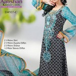 Dawood Textiles Aalishan Chiffon Lawn Collection 2013 Volume 3 For Women 0014