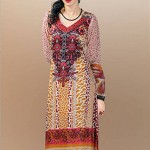 Dawood Textiles Aalishan Chiffon Lawn Collection 2013 Volume 3 For Women 0015