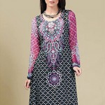 Dawood Textiles Aalishan Chiffon Lawn Collection 2013 Volume 3 For Women 003