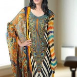 Dawood Textiles Aalishan Chiffon Lawn Collection 2013 Volume 3 For Women 009
