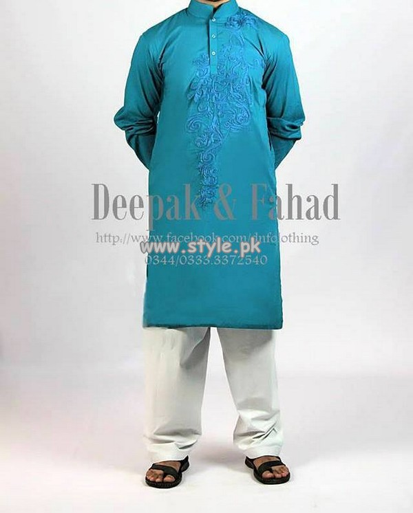Deepak and Fahad Eid Collection 2013 For Men 005