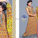 Eiza Collection Lawn 2013 by UA Textile for Women 006