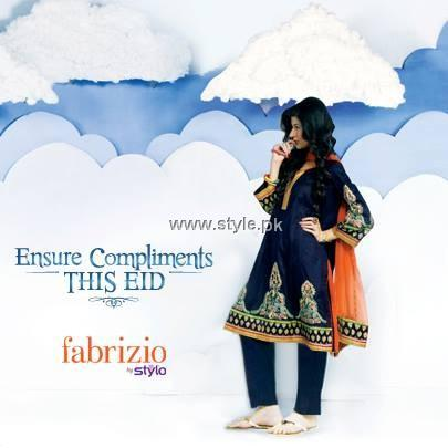 Fabrizio by Stylo Eid Collection 2013 for Women