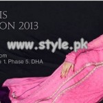 Fozia and Narjis Eid Collection 2013 For Girls 001