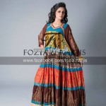 Fozia and Narjis Eid Collection 2013 For Girls 002