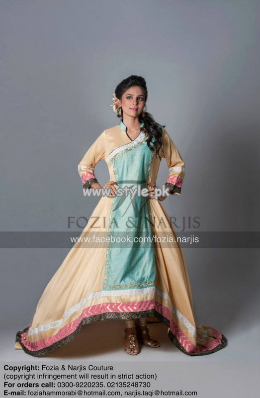 Fozia and Narjis Eid Collection 2013 For Women 005