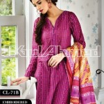 Gul Ahmed Embroidered Lawn Eid Collection 2013 For Women 002
