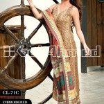 Gul Ahmed Embroidered Lawn Eid Collection 2013 For Women 003