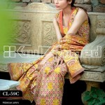 Gul Ahmed Embroidered Lawn Eid Collection 2013 For Women 006