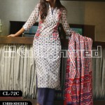 Gul Ahmed Embroidered Lawn Eid Collection 2013 For Women 009